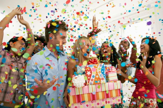 Поздравление близкого человека с днем рождения