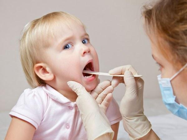 Детский спрей для горла