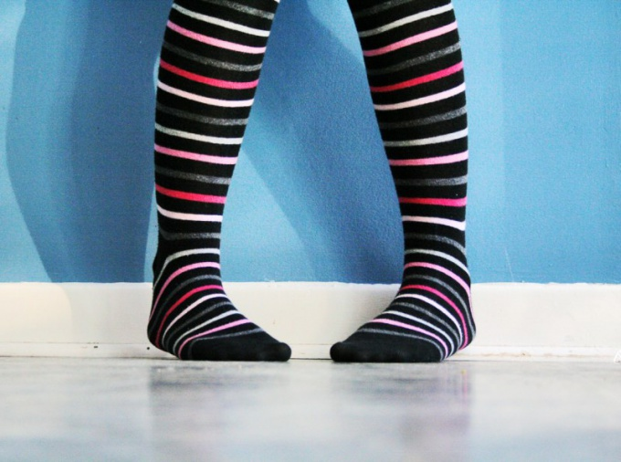 Правильно подобранный размер носков позволит вам чувствовать себя уверенно.