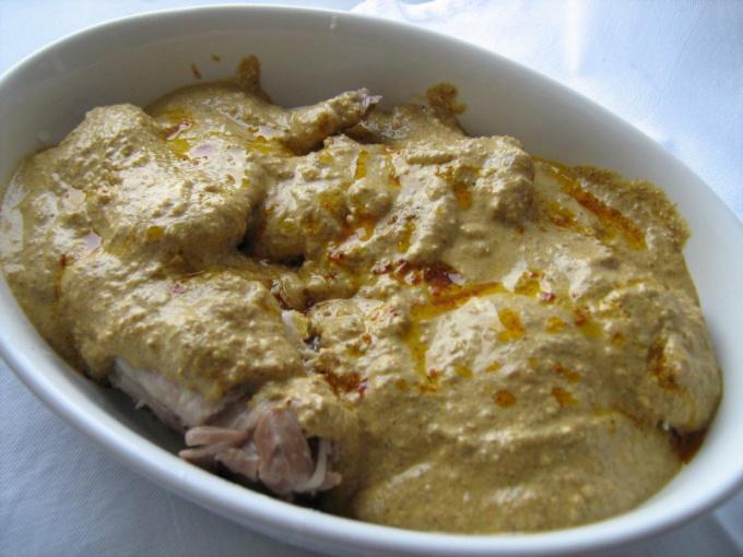 Сациви из курицы: классический рецепт