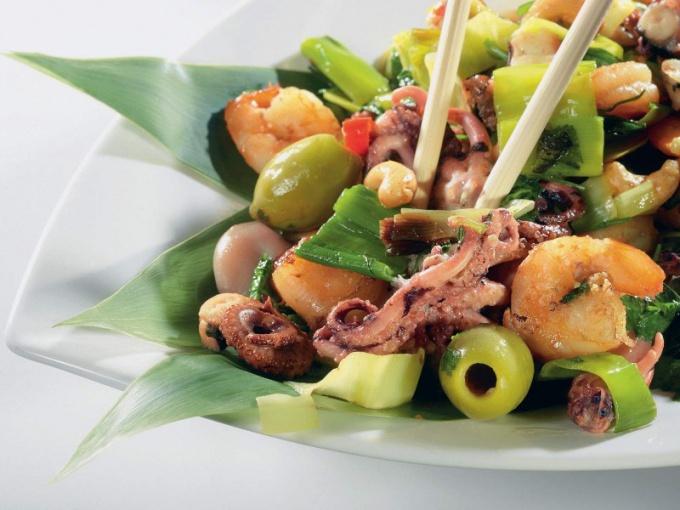 Лучшие блюда из каракатицы и рецепты их приготовления