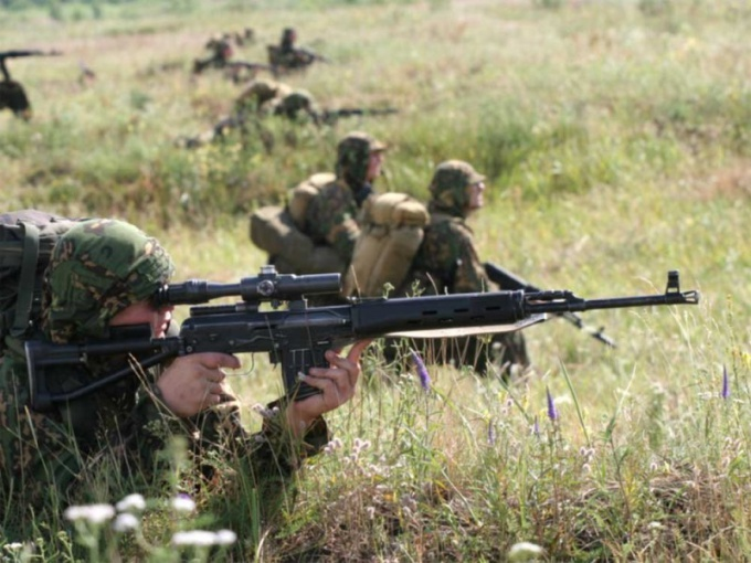 Снайперские винтовки находятся на вооружении большинства армий мира
