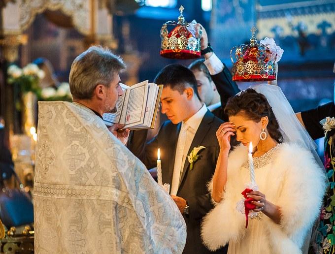 Венчание - ответственный шаг двух любящих людей
