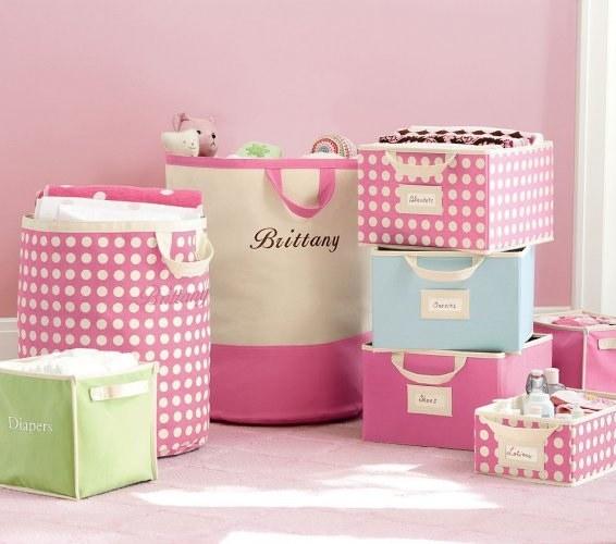 Самодельная коробка для игрушек