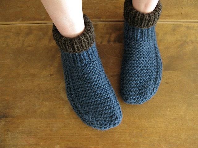 Горчичные носки