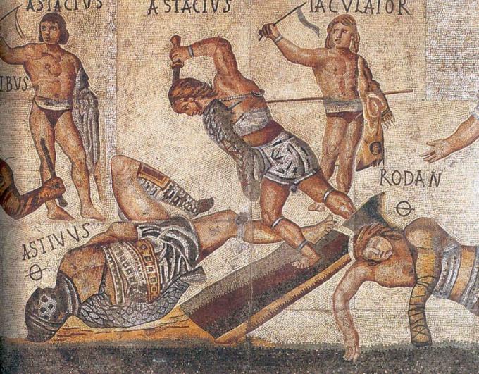 Какие были виды и классификация гладиаторов в Риме