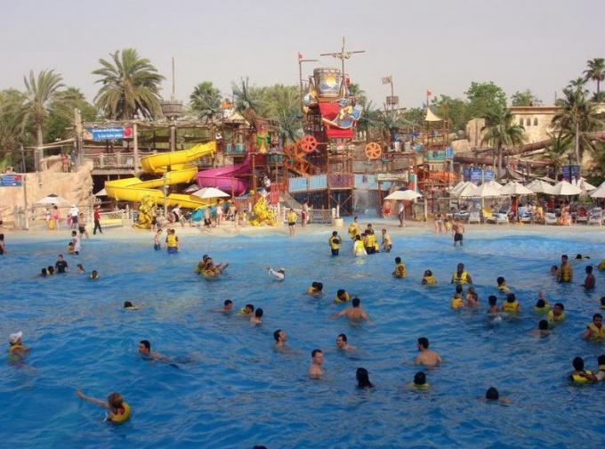 Аквапарк Wild Wadi Water Park, Дубай