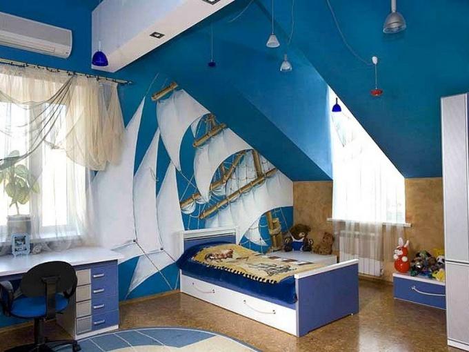 Комната мечты мальчика-подростка