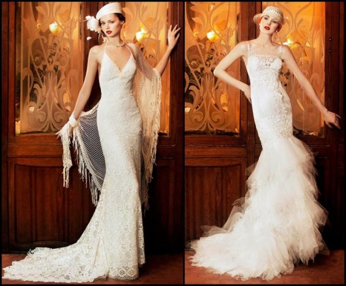 Свадебные платья в стиле «Чикаго»