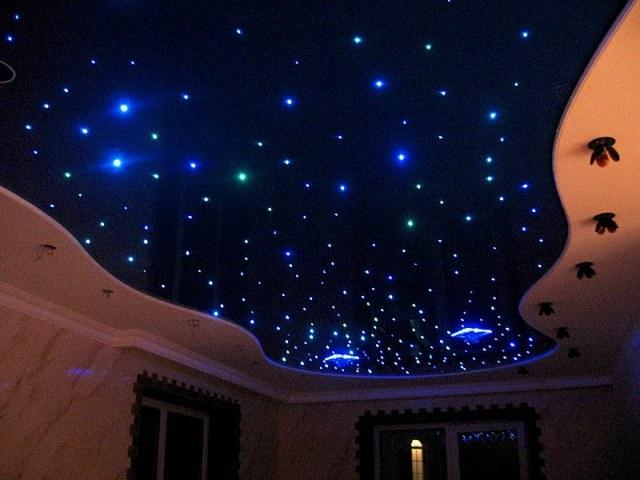 """Что такое потолок """"звездное небо"""""""