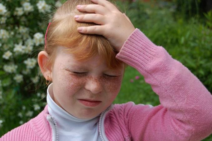 Сотрясение мозга у детей сопровождается ярко выраженной симптоматикой