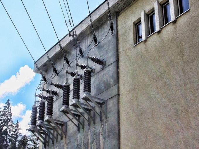 Современная электроподстанция