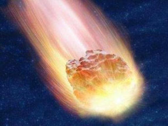 Метеорное тело в земной атмосфере
