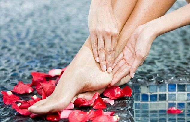 massage for heel spur