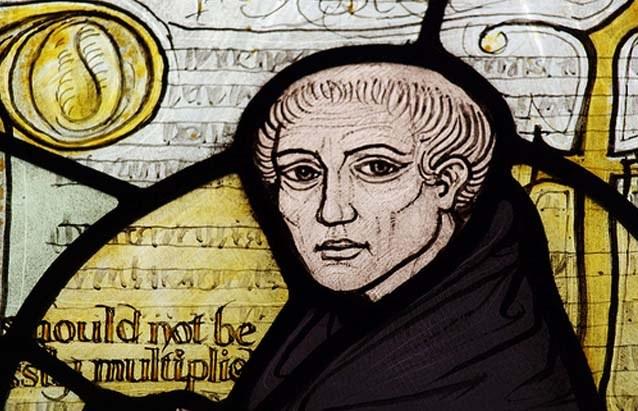 Английский философ Уильям Оккам