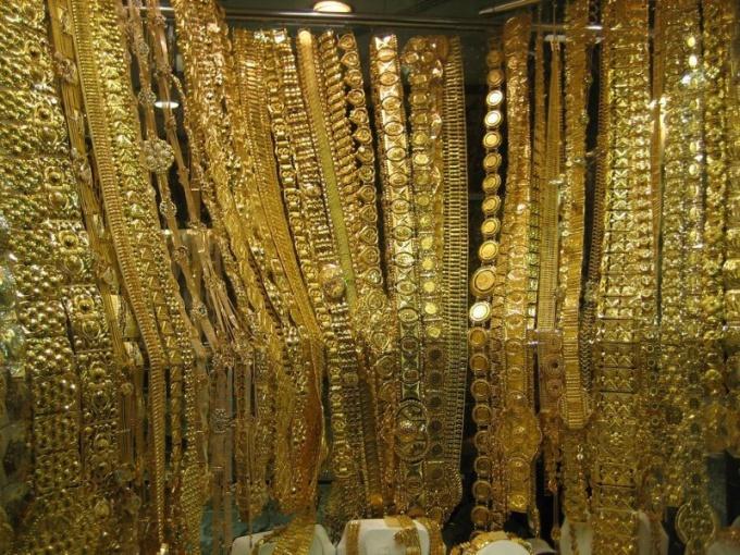 Что такое дутое золото