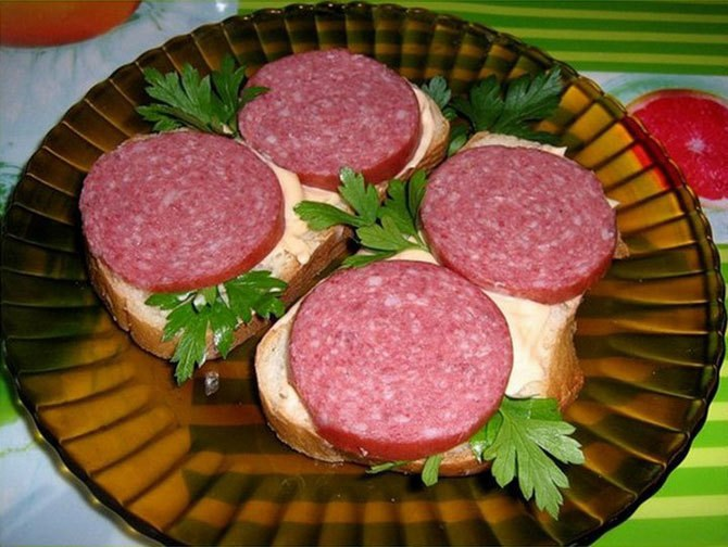 Аппетитные бутерброды