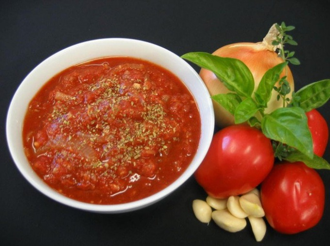 Рецепты соусов из помидоров и чеснока