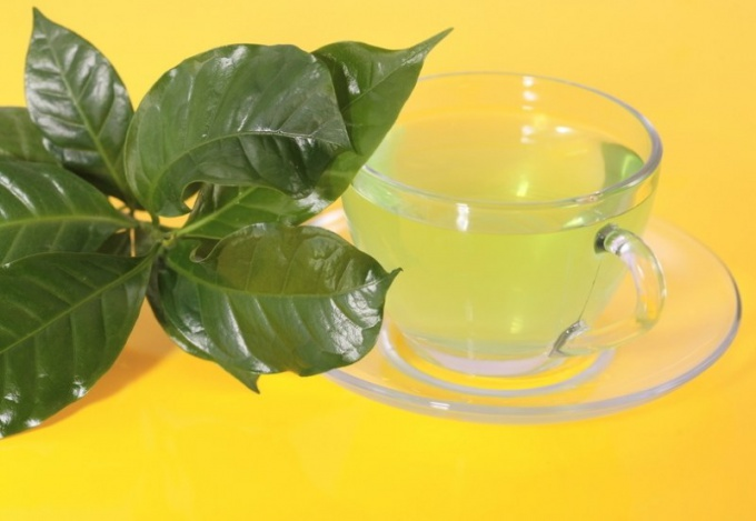 Does green tea on kidney
