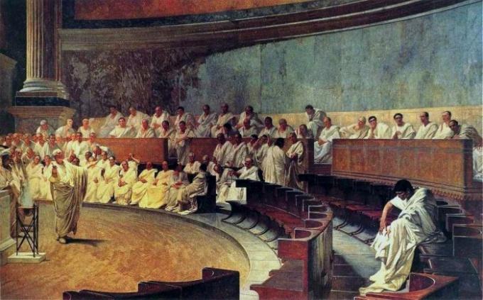 Древнеримские плебеи не имели своих представителей в сенате