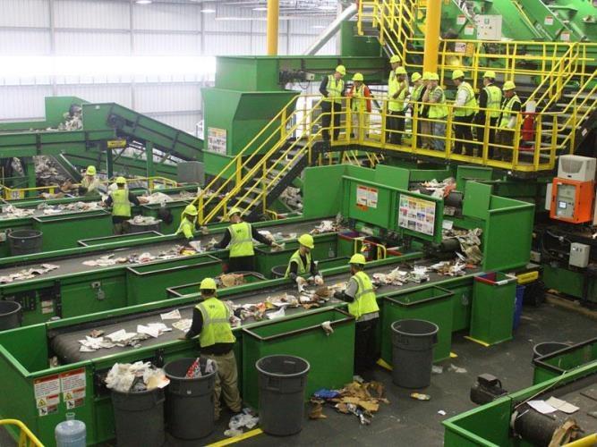 Как перерабатывают мусор в России