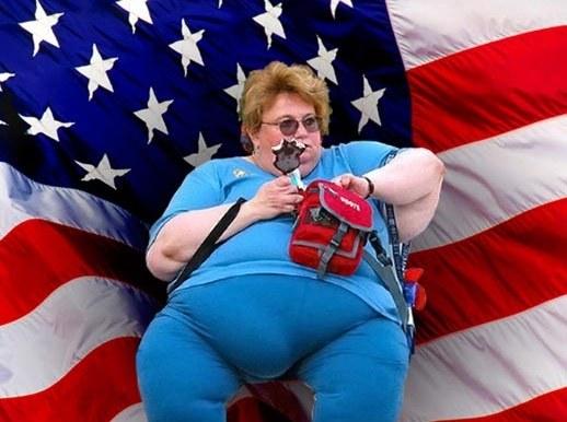 Ожирение - национальная проблема в США