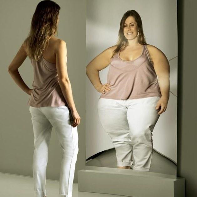 Как перестать чувствовать себя толстой