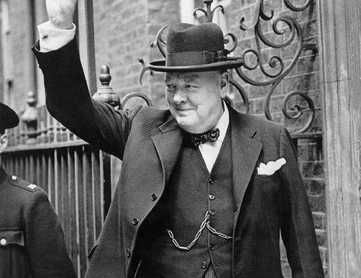 Уинстон Черчилль на Даунинг-стрит