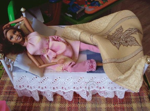 Bed for Barbie
