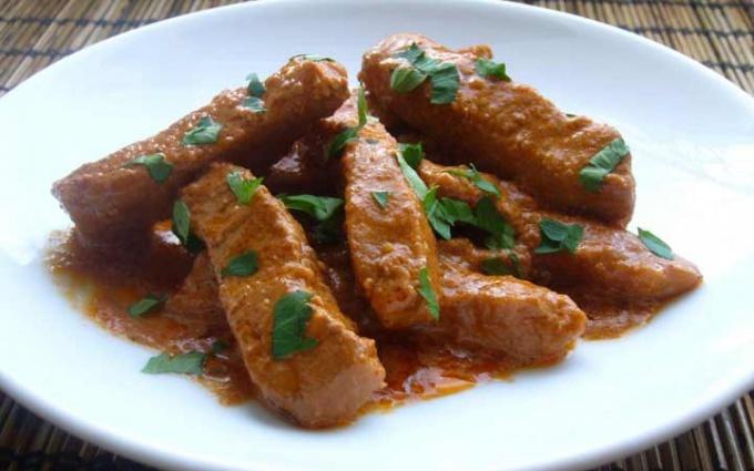 Гуляш - национальное блюдо венгерской кухни