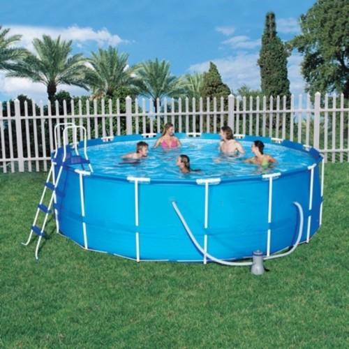 Каркасный бассейн для дачи: почему стоит его приобрести