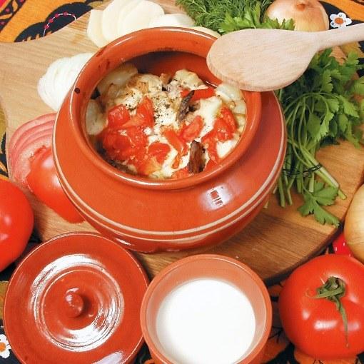 Запеченная в горшочке капуста - полезно блюдо к повседневному и праздничному столу