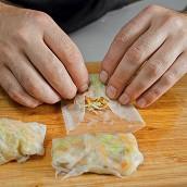 Тайская кухня: готовим спринг-роллы