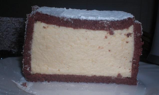 "Десерт ""Tronco de amendoa"" (миндальное полено)"