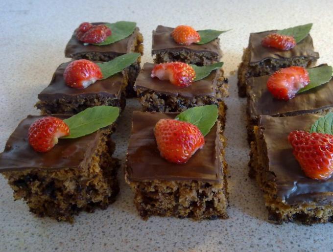 Как приготовить имбирно-шоколадное печенье