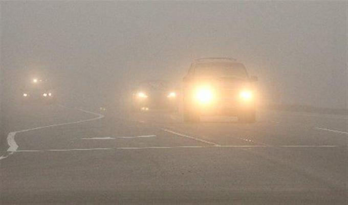 Управление машиной в условиях тумана