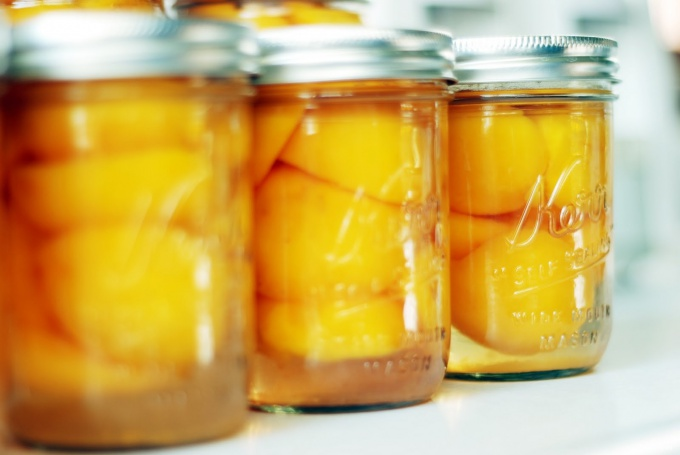 Как замариновать персики
