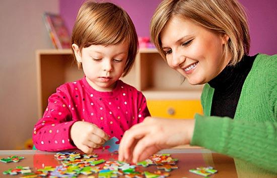 Как следует играть с ребенком