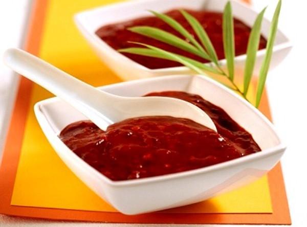 Сливово-томатный и вишневый соус к мясу