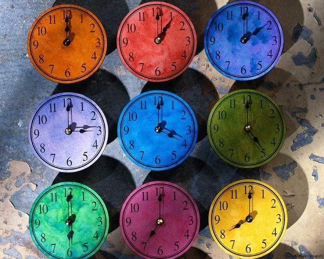 Какие часовые пояса есть в России
