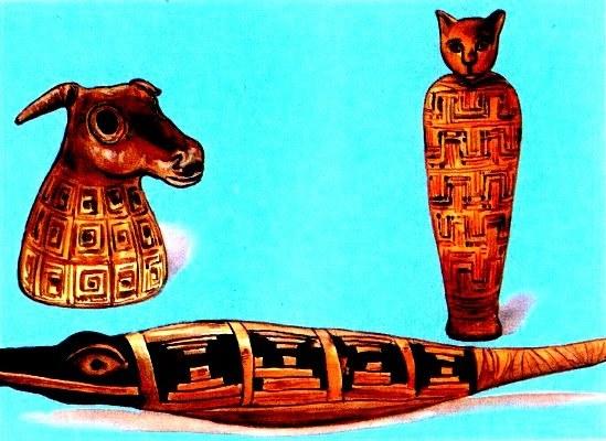 В Древнем Египте было много священных животных