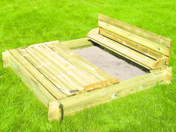 How to make a sandbox in the country