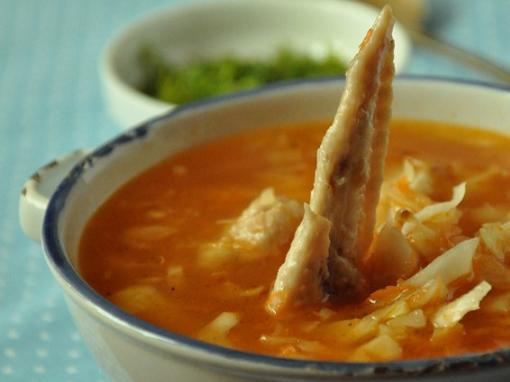 Как сварить суп из куриных крылышек