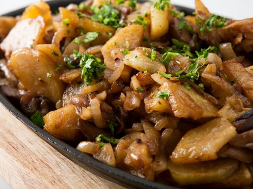 Как приготовить картошку с маслятами