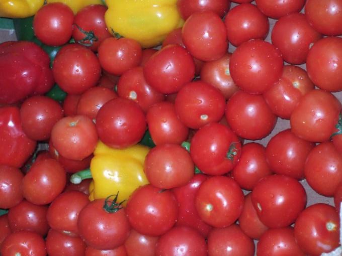 Маринованные помидоры черри - заготовка на зиму