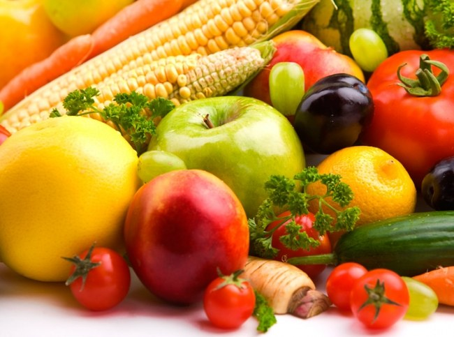 How best to lose weight on vegetables and fruits