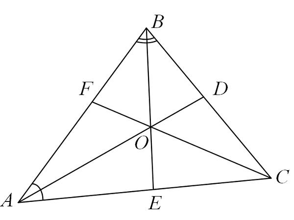 The angle bisector