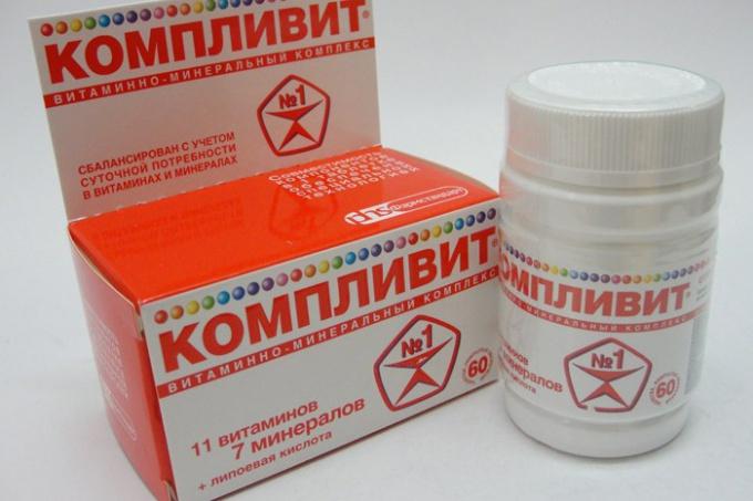"""""""Компливит"""": инструкция по применению"""