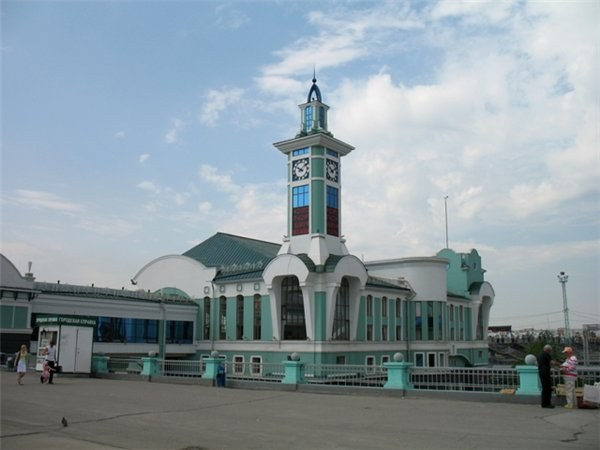 Новосибирск, железнодорожный вокзал