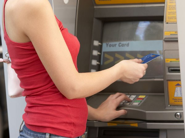 How to withdraw money via ATM